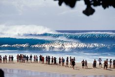 North Shore Pipe. Been here when it was flat. Maybe one day I will have the guts to surf it :)