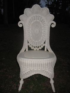 fancy victorian wicker that would grace any drawing room and make it