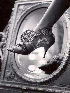 Evening Boot Designed by Roger Vivier For Dior, Paul Schutzer (1930 - 1967)