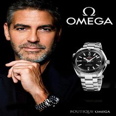 Omega watches omega watches in jeddah omega watches saudi ar George Clooney, Breitling, Seiko, Cool Watches, Watches For Men, Modern Watches, Vintage Watches, Luxury Watches, Rolex Watches