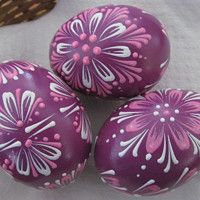 Svátky / Zboží | Fler.cz Painted Rocks, Easter Eggs, Decoupage, Painting, Patterns, Food, Rabbits, Working Holidays, Block Prints