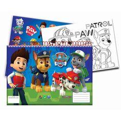 Paw Patrol Schetsboek A4 met Stickers online kopen | Lobbes.nl