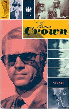 The Thomas Crown Affair Poster // Cheeky Design