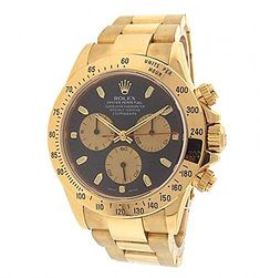 10c5962b7fd Men s Certified Pre-Owned Watches - Rolex Cosmograph Daytona  automaticselfwind mens Watch 116528PNBK Certified Preowned