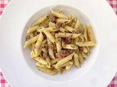 Pasta met pistachepesto en parmaham | Bekijk dit Siciliaanse pasta recept op Alles Over Italiaans Eten