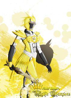 Power Ranger: Mythic Champion Yellow Owl by the-newKid.deviantart.com on @deviantART