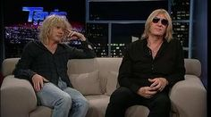 Def Leppard's Joe Elliott & Rick Savage -- I loved this interview, not the same batch of questions they always get asked. And great to see Rick Savage being in on an interview for a change :) Love these guys.