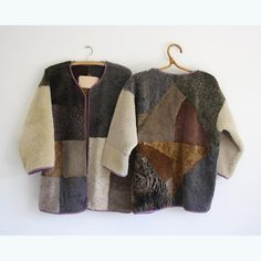 """❄️❄️❄️❄️ the diamond kimono comes in an organic/broken down pattern version too #MS_AW_15"""