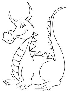 Download My How To Draw | Dragon drawing, Dragon coloring page ...