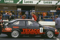 World Wide Touring Car Racing results Ford Rs, Car Ford, Tc Cars, Ford Sierra, Texaco, Vintage Race Car, Unique Cars, Rally, Touring