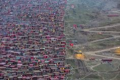 Something Red. 'Since June 2016, everything has changed in Larung Gar, Tibet but almost nobody knows about that. What before was the largest Buddhist settlement in the world and a remote place out of the modern society where nuns and monks led a passive life, is now being demolished by Chinese authorities. The Hive by Marco Grassi. th
