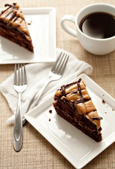 Chocolate-Peanut Butter Torte