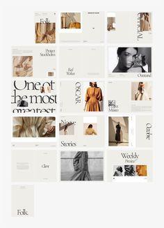 Web Design Trends, Design Websites, News Web Design, Graphisches Design, Design Shop, Media Design, Brand Design, Portfolio Design Layouts, Fashion Portfolio Layout