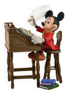 Mickey as Bob Cratchit 1st In Series 2009 Hallmark Ornament