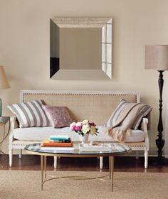 cute yet simple living room