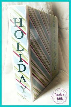 Holiday binder....
