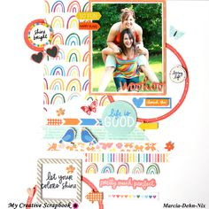 Disney Scrapbook Pages, Scrapbook Page Layouts, Scrapbook Cards, Scrapbooking Ideas, Amy Tan, Project 11, Image Layout, Picnic In The Park, American Crafts