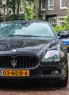 Follow us on instagram: http://instagram.com/fortlauderdalecollection Maserati QuattroPorte, that is a menacing car.