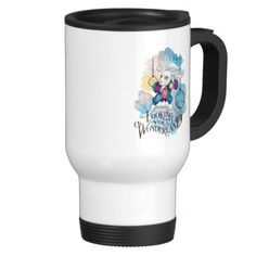 Alice in Wonderland - The White Rabbit | Looking for Wonderland. Regalos, Gifts. Producto disponible en tienda Zazzle. Tazón, desayuno, té, café. Product available in Zazzle store. Bowl, breakfast, tea, coffee. #taza #mug