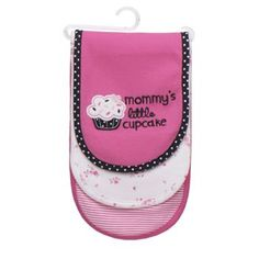 Carter's 3-pk. Cupcake Burp Cloths {can never have enough lol}