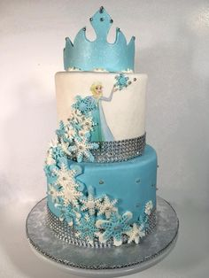 Bolo Frozen Ideias Lindas e Divertidas Bolo Frozen, Cake, Cool Designs, Make It Yourself, Desserts, Food, Sprinkle Cakes, Cake Ideas, Pie Wedding Cake