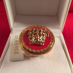 dc76a57af89 Versace Medusa Ring New never been worn! Size IT 19 which converts to a US