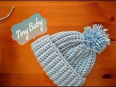 Crochet Baby Mittens Crochet baby beanie hat months with Half double crochet slip stitch Crochet Baby Blanket Borders, Crochet Baby Mittens, Crochet Scarf Easy, Crochet Baby Blanket Beginner, Crochet Baby Jacket, Crochet Baby Beanie, Quick Crochet, Crochet Bebe, Crochet Baby Booties
