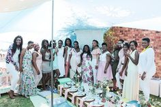 Squad goals @neiloe babyshower courtesy of her girls  #celebratelife ladies  Photo: @nkosi.t  Decor Styling: @thechicconnective