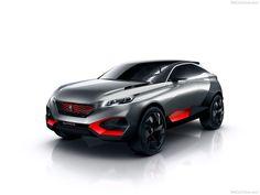 Peugeot Quartz Concept Top View