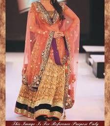 Buy Malaika Arora Khan Bollywood Replica Designer Purple, Peach & Pink Heavy Wedding Lehenga bollywood-lehenga online