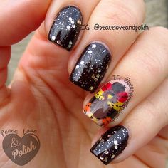 THANKSGIVING by peaceloveandpolish #nail #nails #nailart