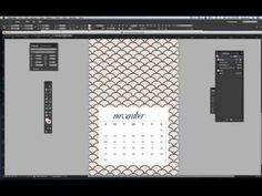 How to creat Calendar Pages in InDesign | Nicole's Classes