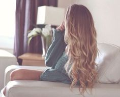 Beautiful Blond Long Hair