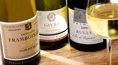 Toutes les appellations de Bourgogne