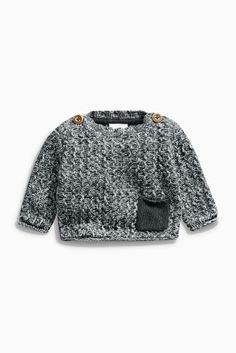 Kaufen Sie Grauer Pullover mit Tasche (0 Monate – 2 Jahre) heute online bei Next: Deutschland