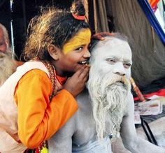 a ten year old sadhvi Photo courtesy of The Economic Times