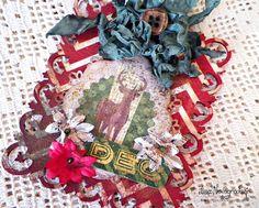 DEC Christmas Tag **BoBunny - Scrapbook.com