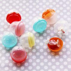 Plastic Vending Capsules