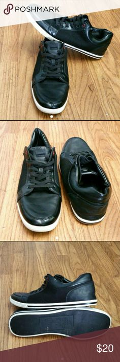 ALDO MEN'S FASHION SNEAKERS VERY CLEAN INSIDE-OUT WITH MINOR SCUFFS ON THE FRONT TIP OF THE SHOES   FIT LIKE SIZE 13  SKE # HD aldo  Shoes Sneakers