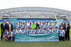 Twitter / BHASnappy: AITC New sponsor for a new #AITC Kickz Team unveiled earlier this evening at #BHAFC