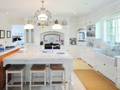 Just another Dream Kitchen! @ the former Connecticut Estate of Katharine Hepburn.