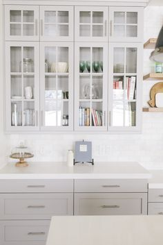 Mapleton New Build Kitchen & Dining - House of Jade Interiors Blog.... all the heart eyes for these cabinets!