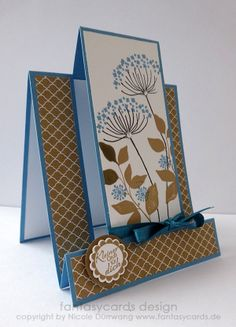 Center Step Card Stampin' Up! by