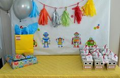 Hostess with the Mostess® - {Robot Party}