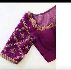 Hand Work Blouse Design, Simple Blouse Designs, Stylish Blouse Design, Fancy Blouse Designs, Wedding Saree Blouse Designs, Latest Saree Blouse Designs, Wedding Blouses, Lehenga Designs, Blouse Styles
