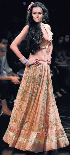 What a skirt! Anita Dongre at Lakme Fashion Week 2011 Summer