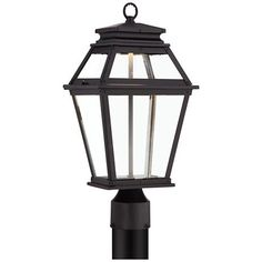 "Northbrook 18 3/4"" High Bronze LED Outdoor Post Light"