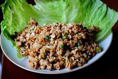 PF Chang's Lettuce Wraps. My thoughts: Really, really good. We all loved them! The girls had fun making theirs:)