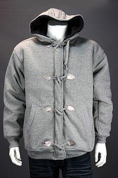 2d00f0e95d96 Koman Fleece Jacket Heather Grey Lg