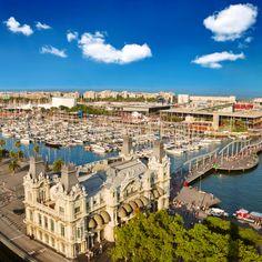 Port Vell, Barcelona (Spain) tránsito de los escritores latinoaméricanos del 07-05 al 04-06